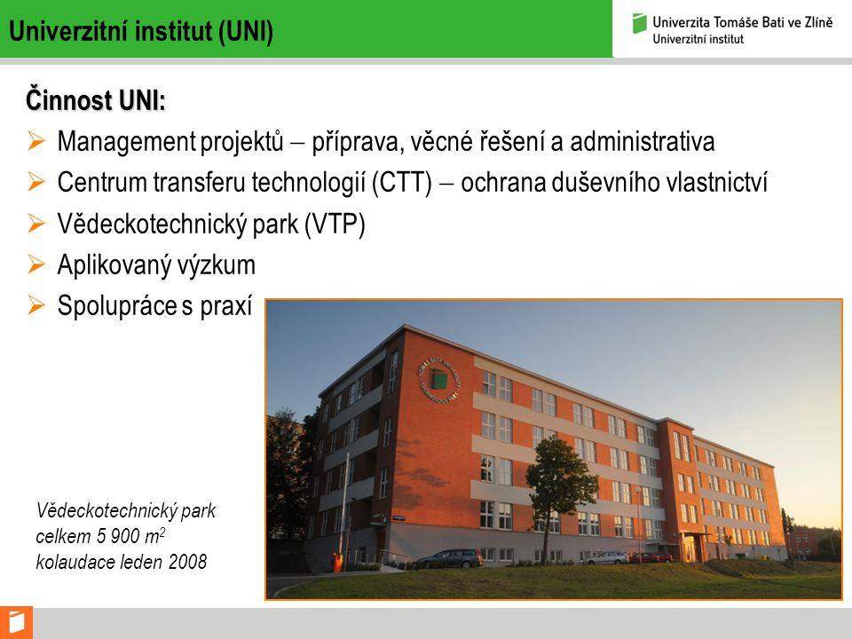 Univerzitní institut (UNI)