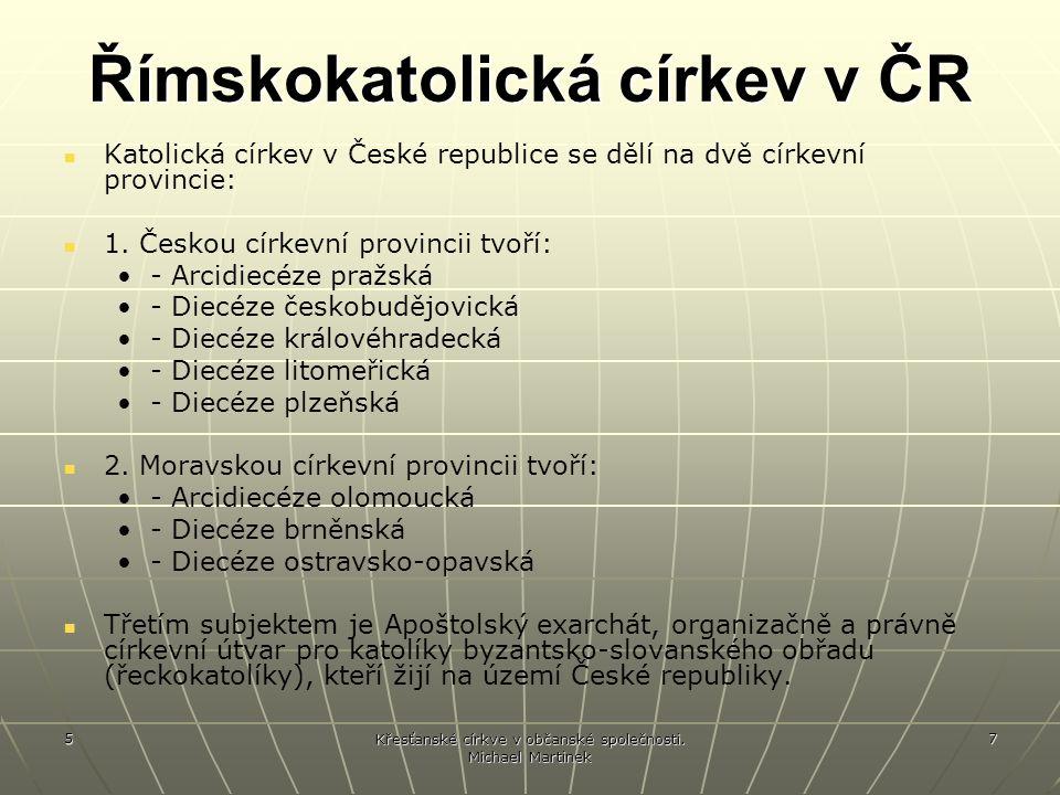 Římskokatolická církev v ČR