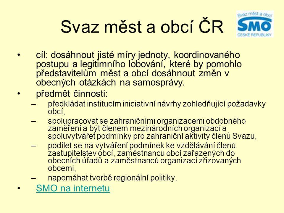 Svaz měst a obcí ČR