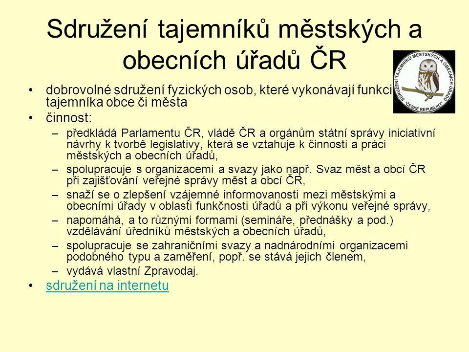 Sdružení tajemníků městských a obecních úřadů ČR
