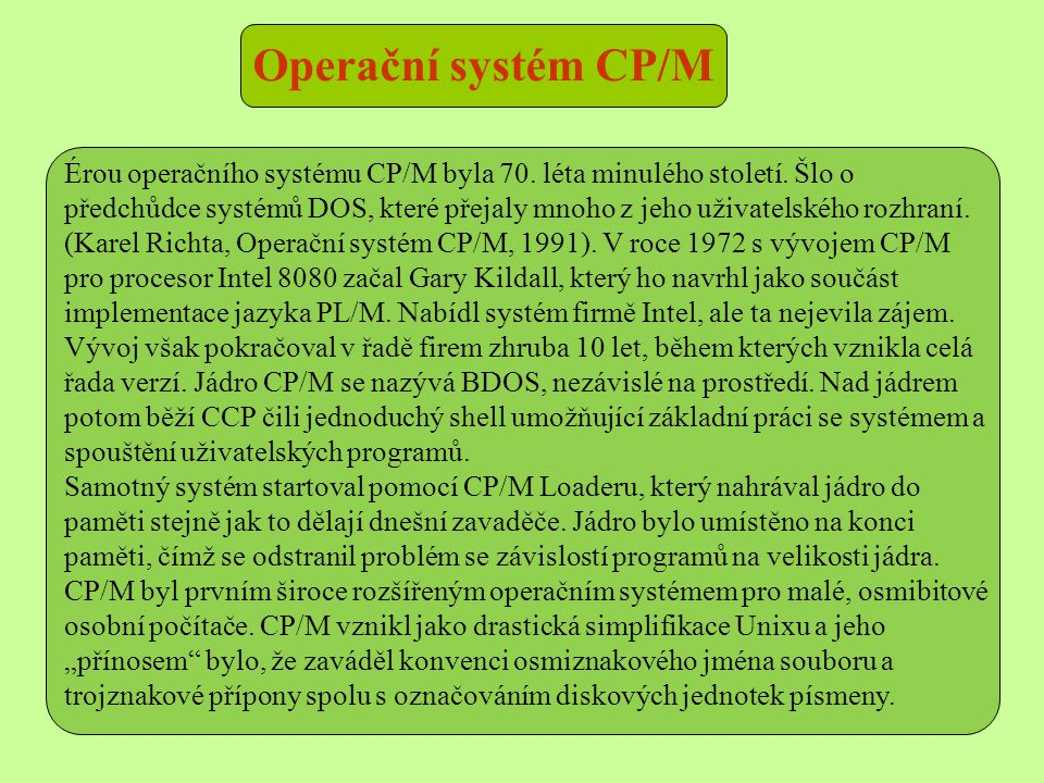 Operační systém CP/M