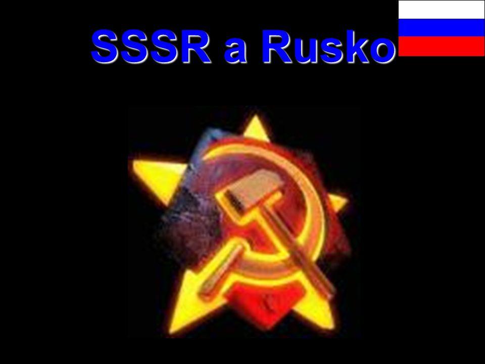 SSSR a Rusko