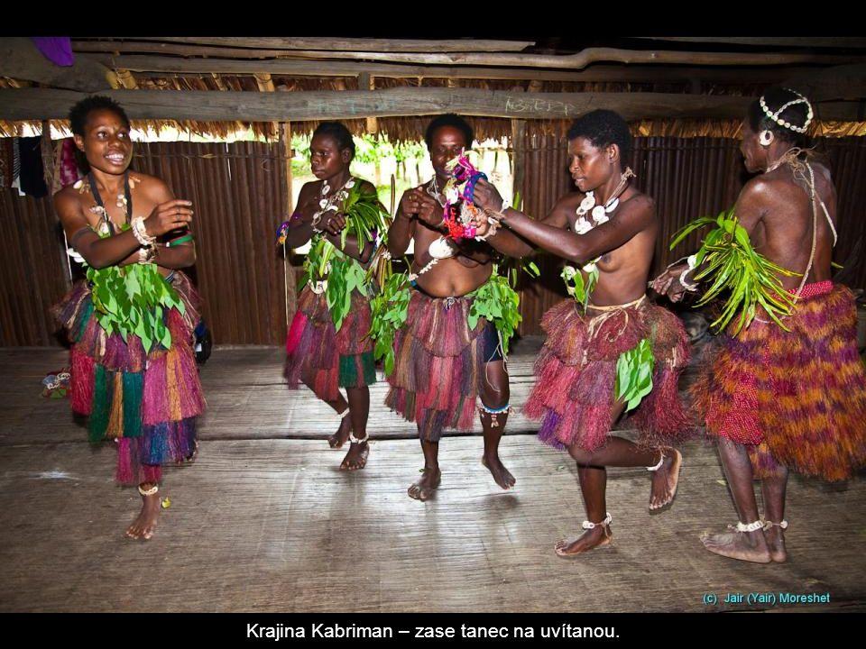 Krajina Kabriman – zase tanec na uvítanou.