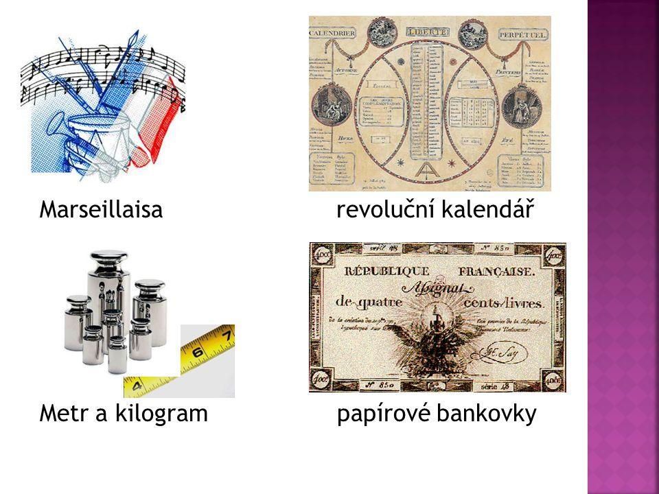Marseillaisa revoluční kalendář