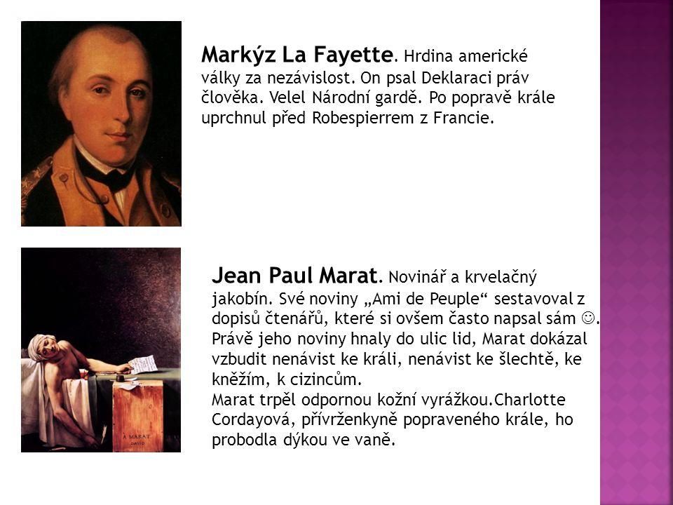 Markýz La Fayette. Hrdina americké války za nezávislost