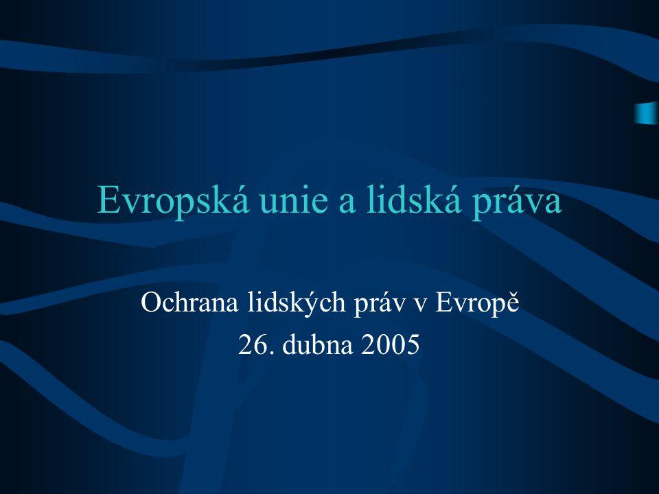Evropská unie a lidská práva