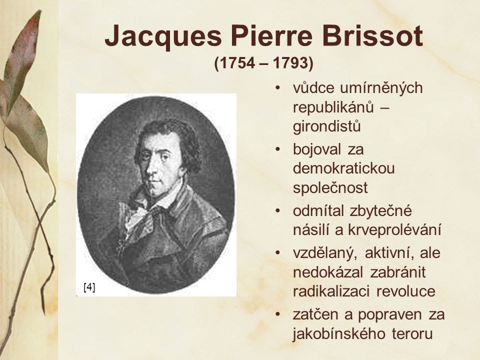 Jacques Pierre Brissot (1754 – 1793)