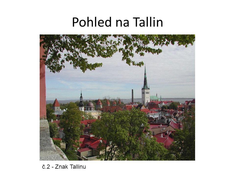 Pohled na Tallin č.2 - Znak Tallinu