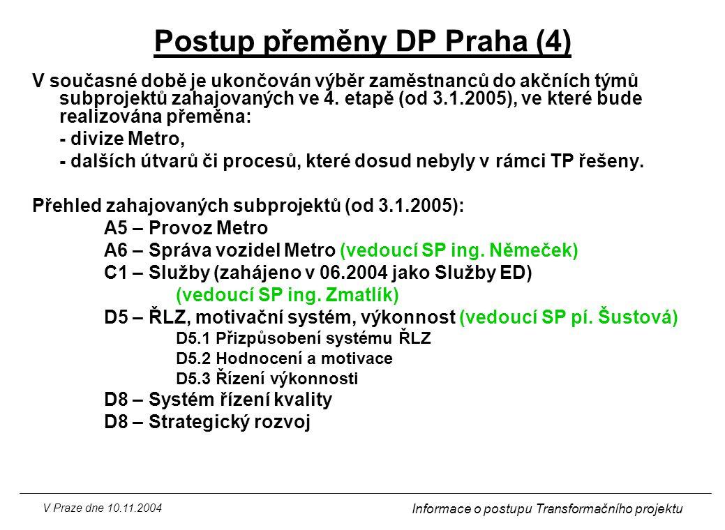 Postup přeměny DP Praha (4)