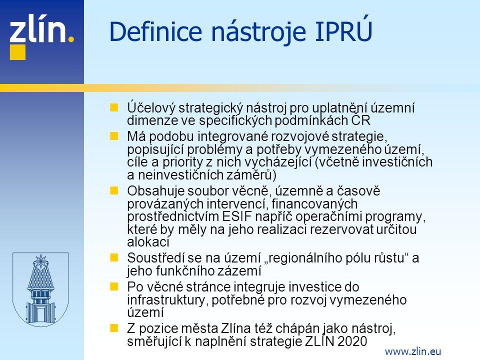 Definice nástroje IPRÚ