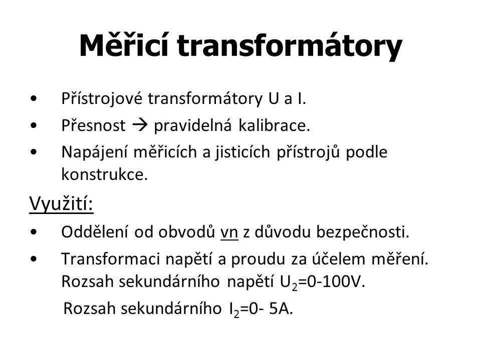 Měřicí transformátory