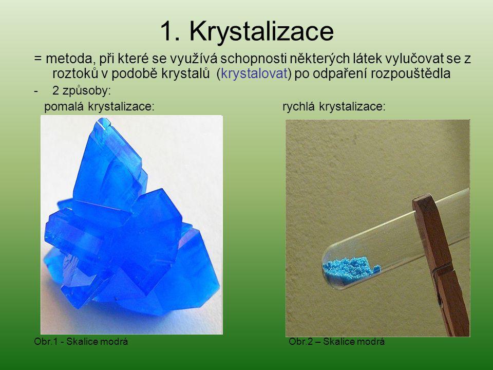 1. Krystalizace
