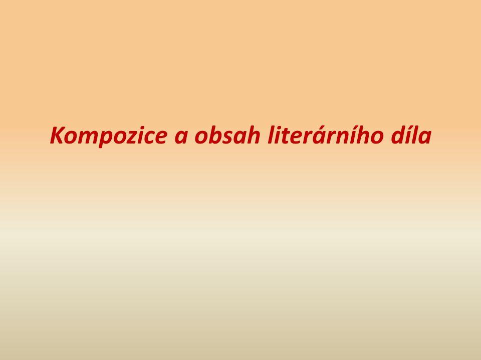 Kompozice a obsah literárního díla