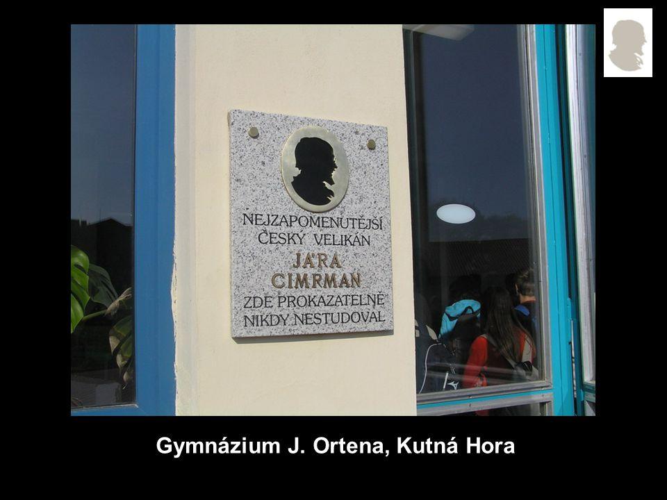 Gymnázium J. Ortena, Kutná Hora