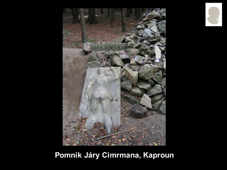 Pomník Járy Cimrmana, Kaproun