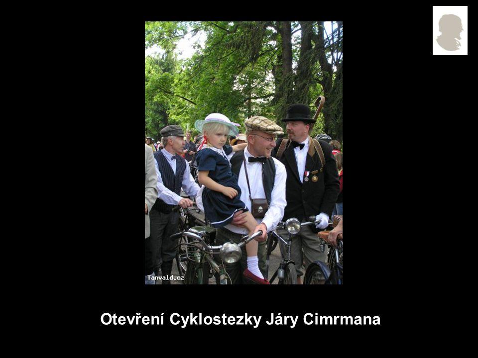 Otevření Cyklostezky Járy Cimrmana