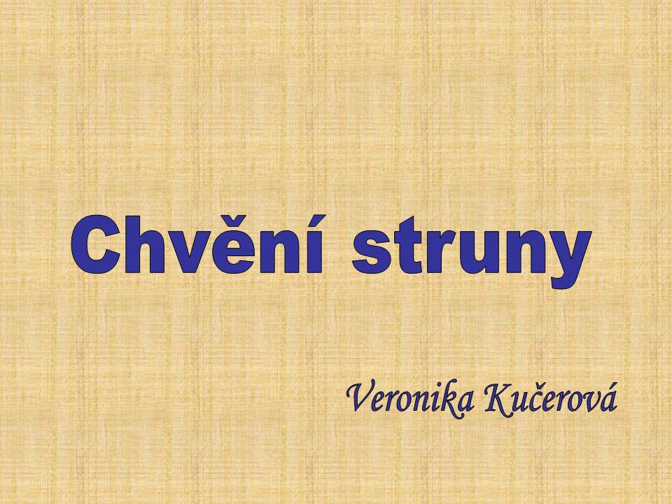 Chvění struny Veronika Kučerová