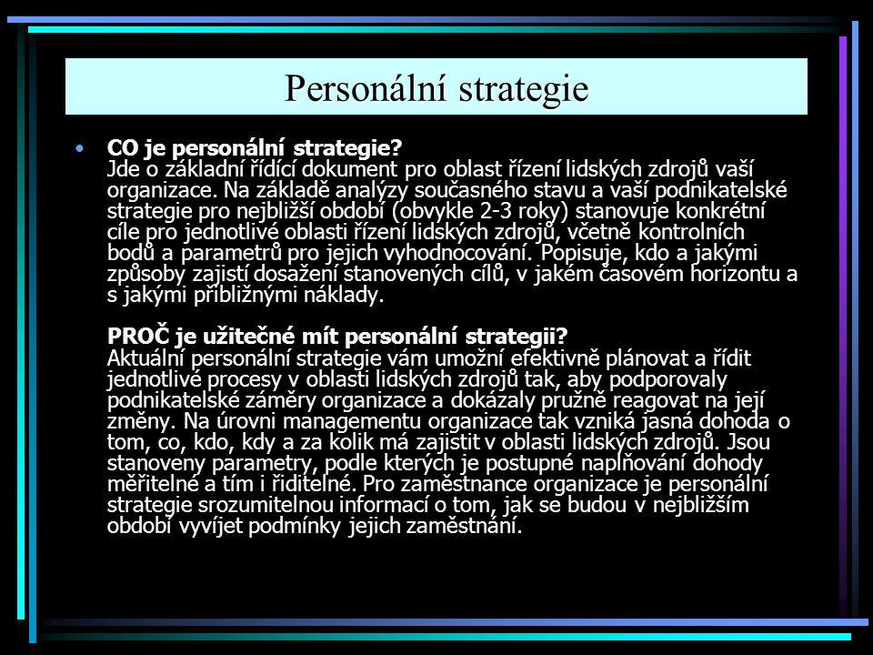 Personální strategie