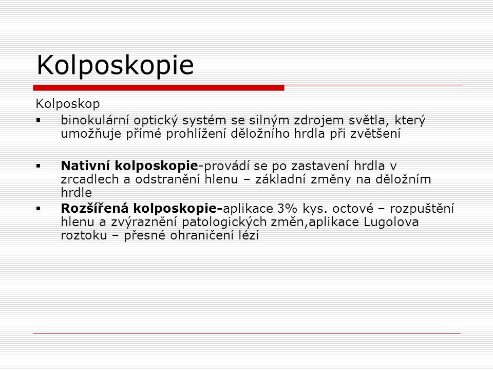 Kolposkopie Kolposkop