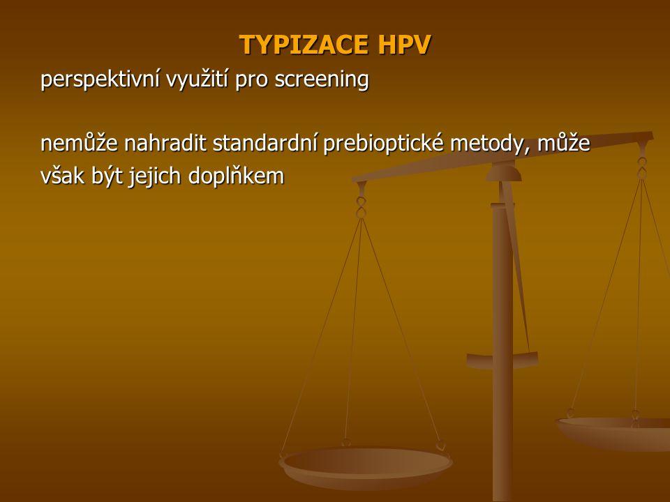 TYPIZACE HPV perspektivní využití pro screening