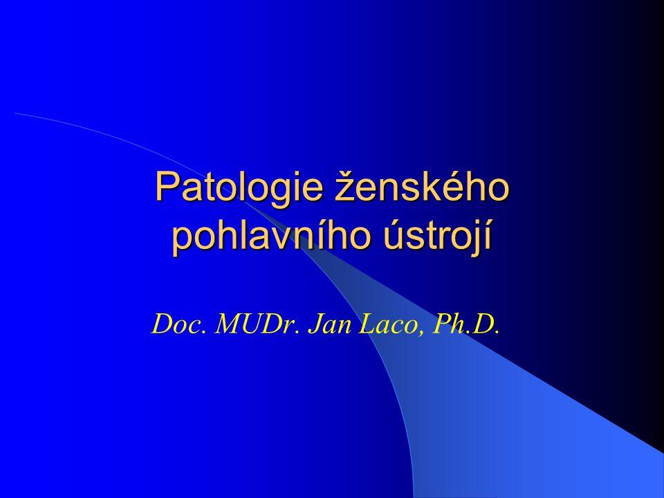 Patologie ženského pohlavního ústrojí