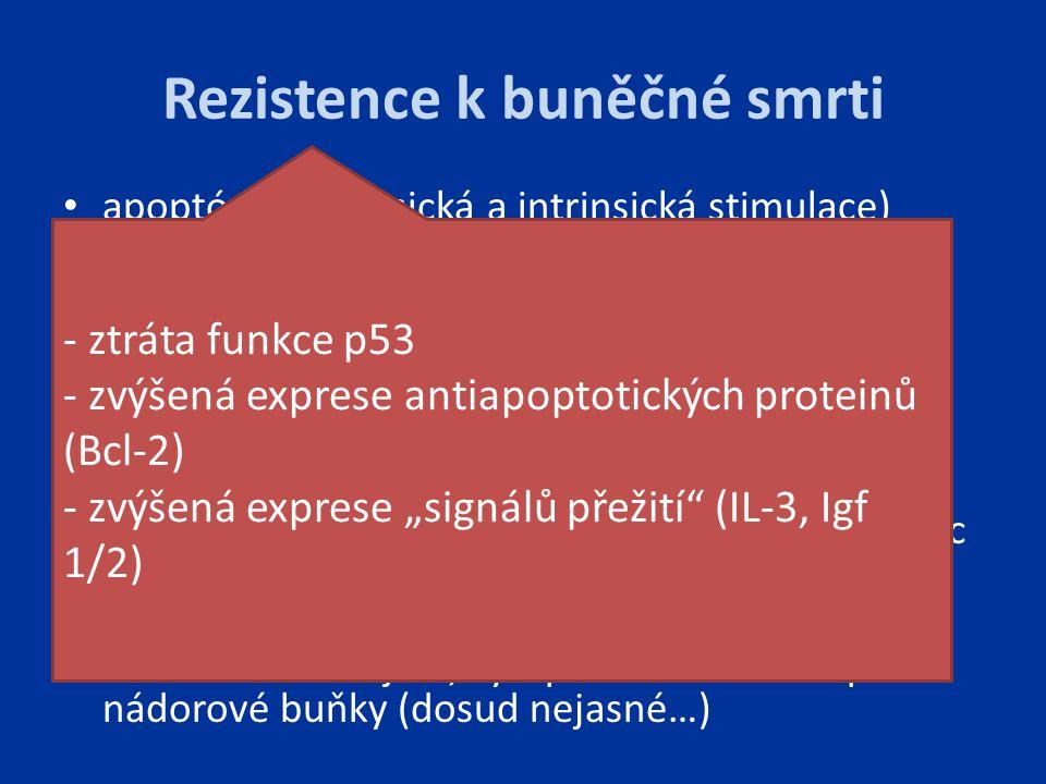 Rezistence k buněčné smrti