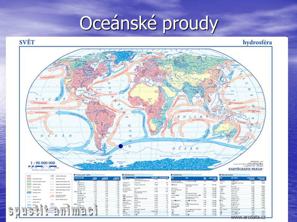Oceánské proudy www.arcdata.cz spustit animaci