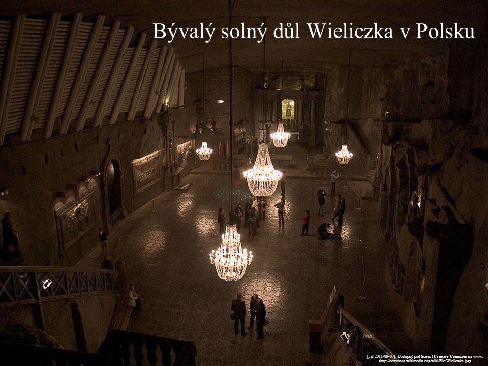 Bývalý solný důl Wieliczka v Polsku