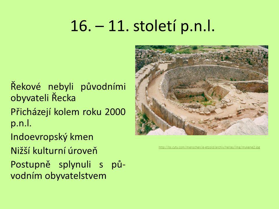 16. – 11. století p.n.l.