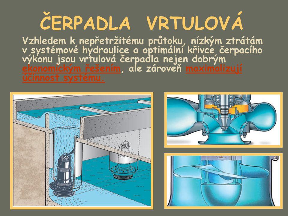 ČERPADLA VRTULOVÁ