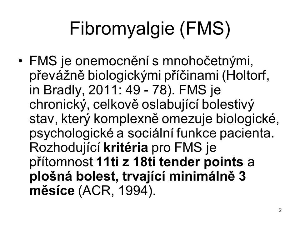 Fibromyalgie (FMS)
