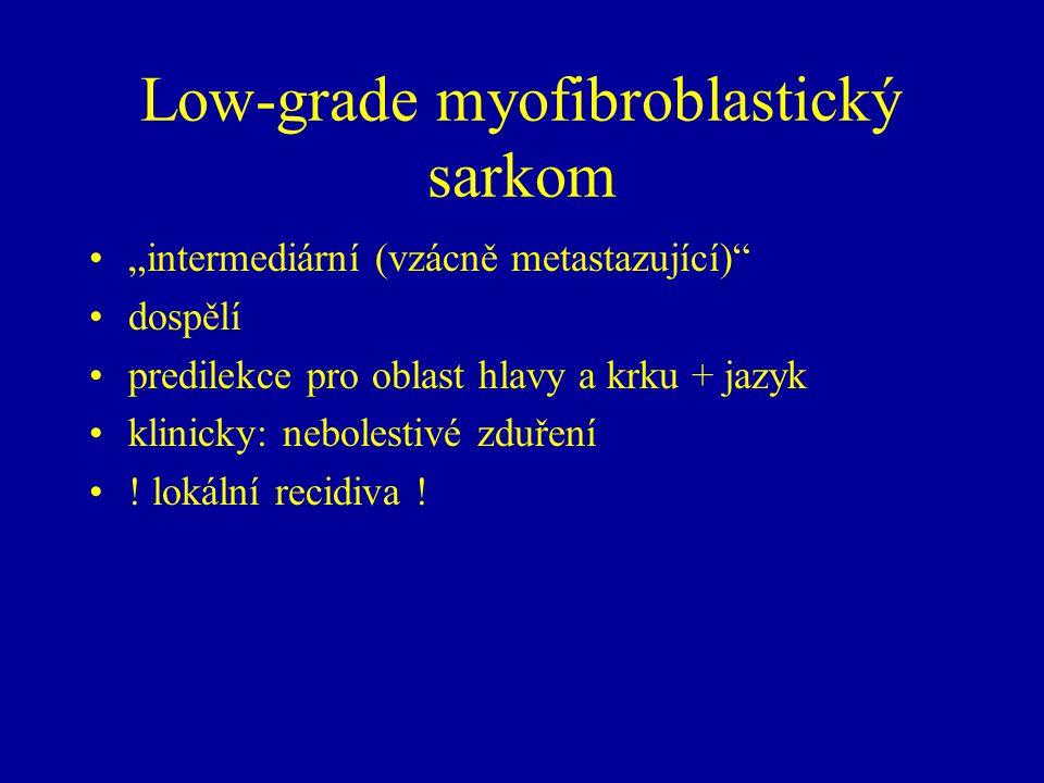 Low-grade myofibroblastický sarkom