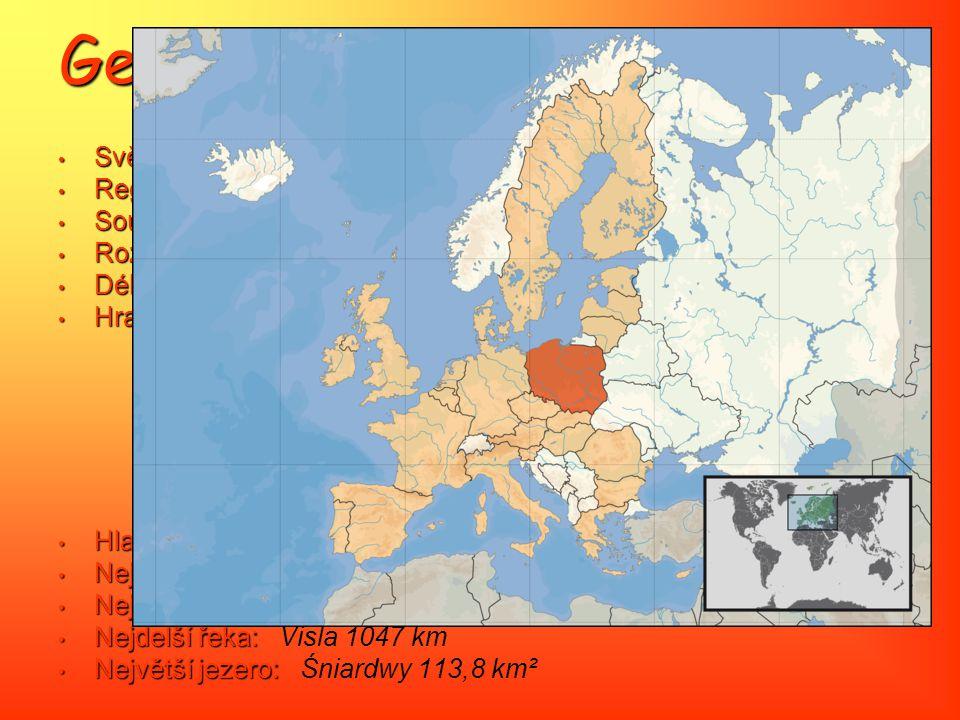 Geografie Světadíl: Evropa Region: Střední Evropa