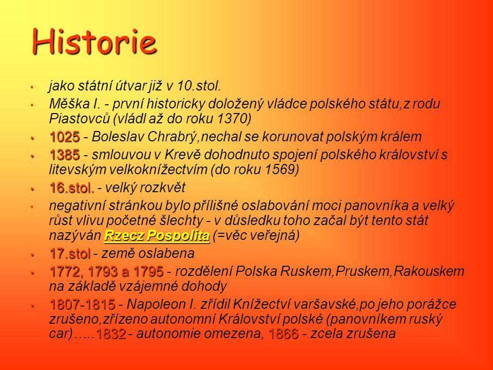 Historie jako státní útvar již v 10.stol.