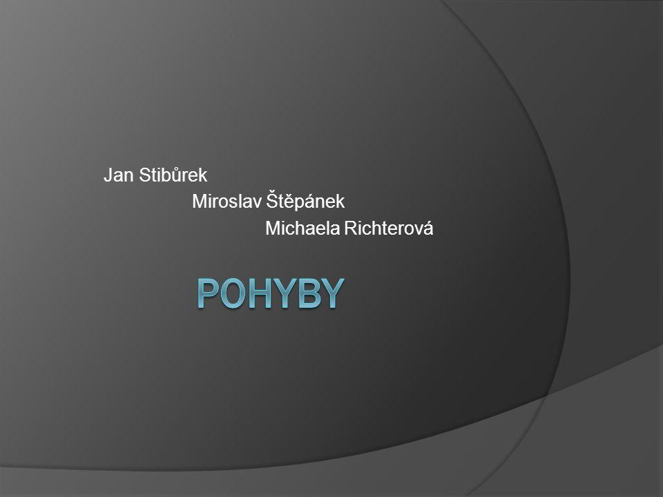 Jan Stibůrek Miroslav Štěpánek Michaela Richterová