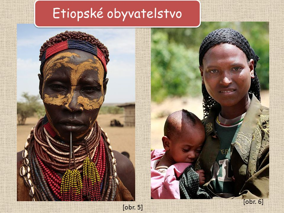 Etiopské obyvatelstvo