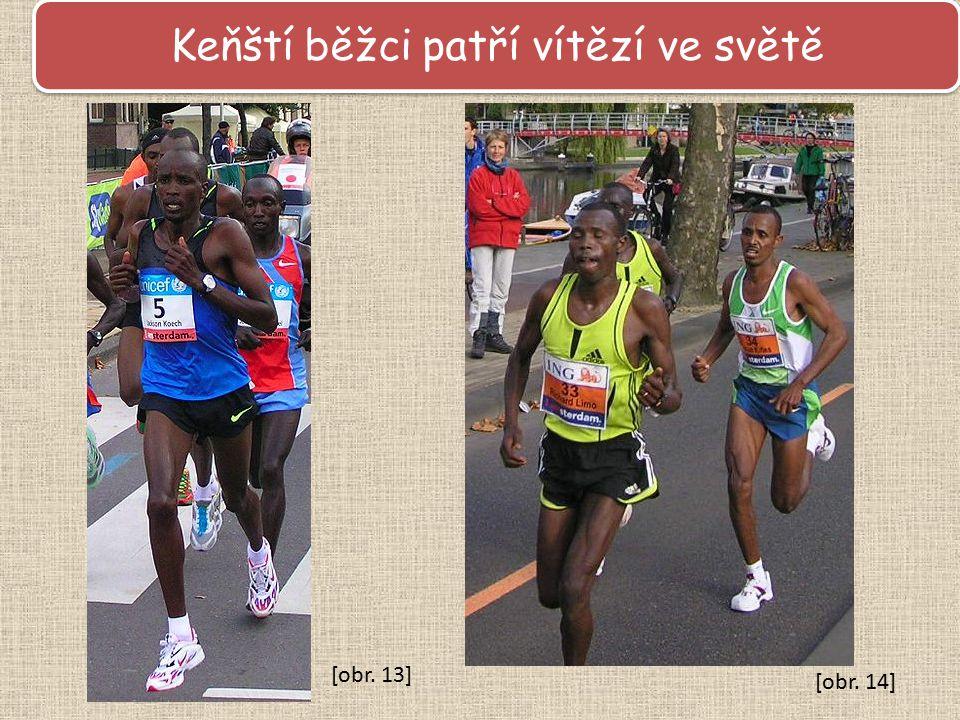 Keňští běžci patří vítězí ve světě