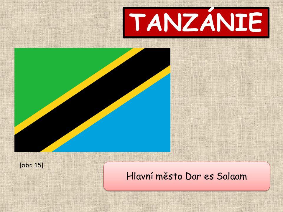 Hlavní město Dar es Salaam