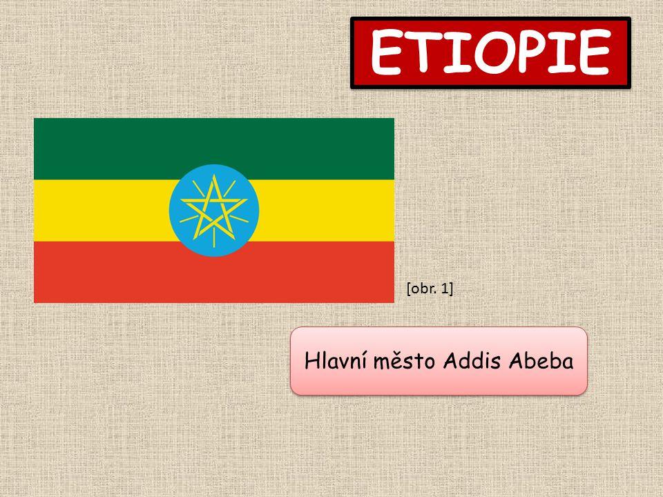 Hlavní město Addis Abeba