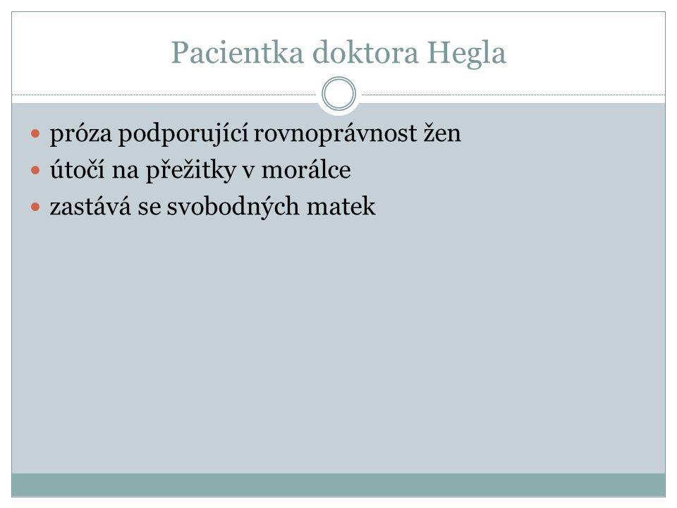 Pacientka doktora Hegla