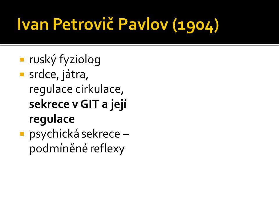 Ivan Petrovič Pavlov (1904)
