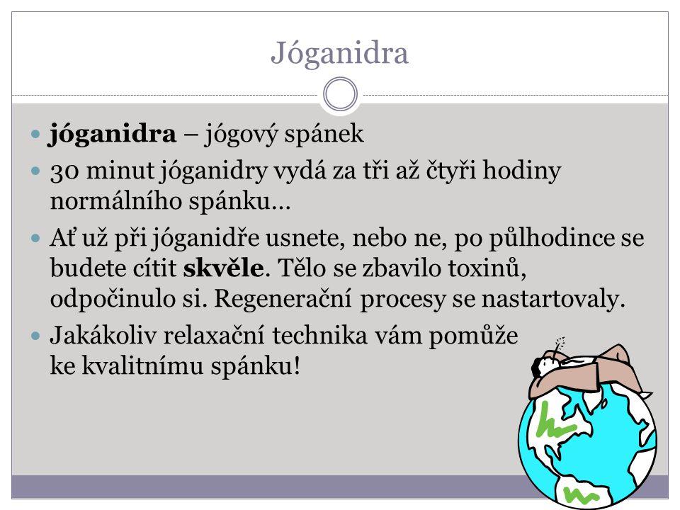 Jóganidra jóganidra – jógový spánek