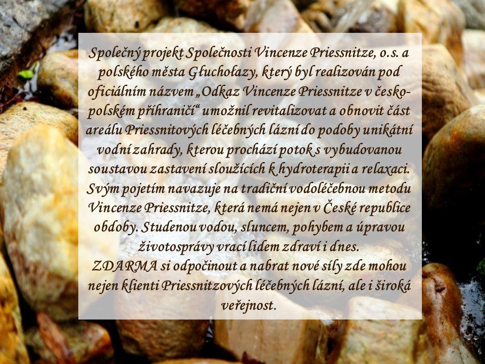 Společný projekt Společnosti Vincenze Priessnitze, o. s