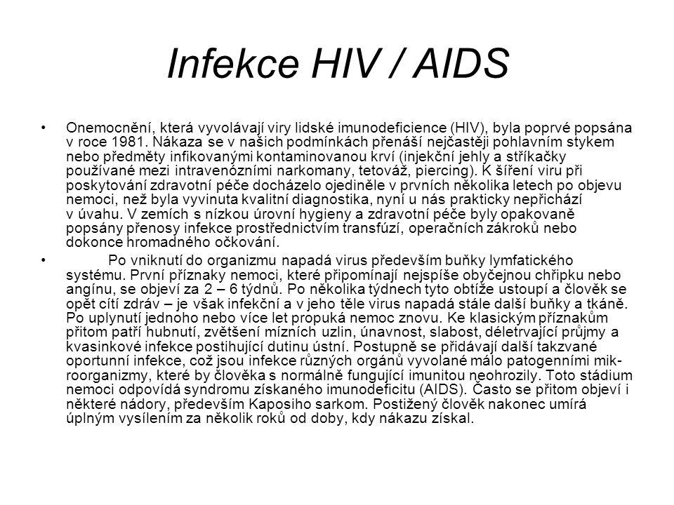 Infekce HIV / AIDS