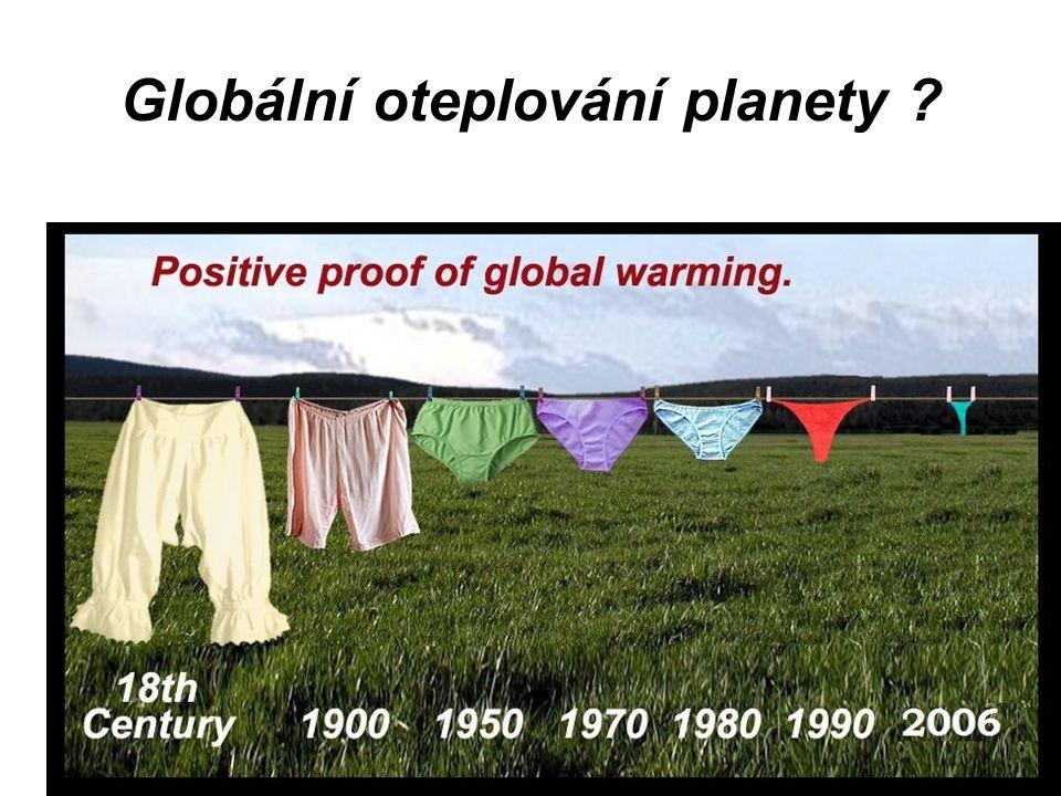 Globální oteplování planety