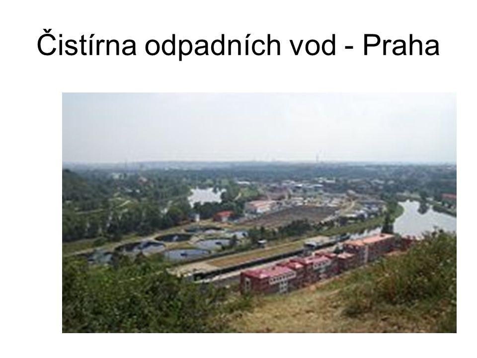 Čistírna odpadních vod - Praha