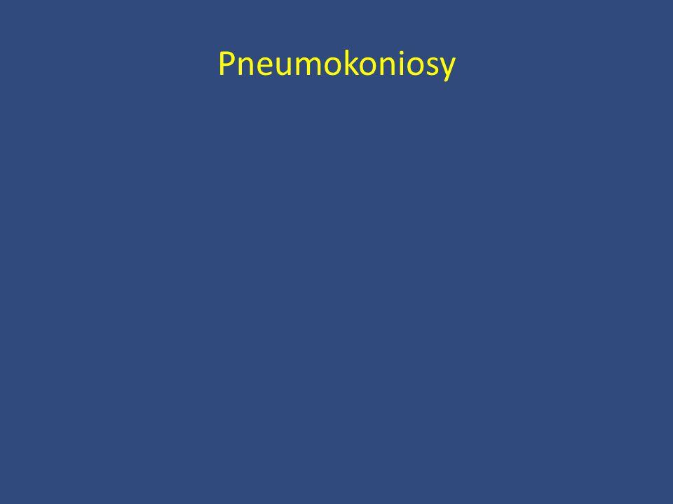 Pneumokoniosy