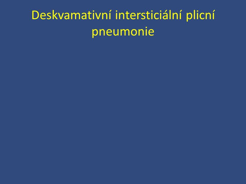 Deskvamativní intersticiální plicní pneumonie