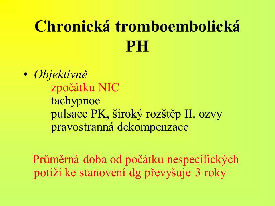 Chronická tromboembolická PH