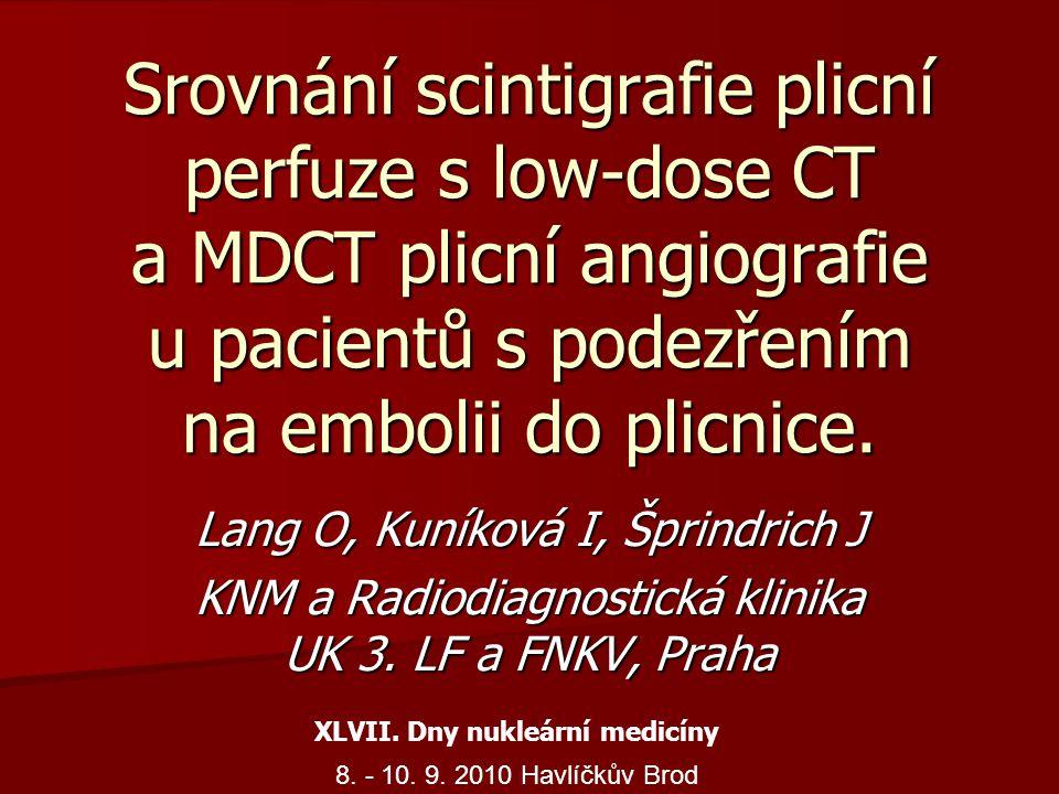 XLVII. Dny nukleární medicíny